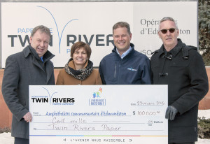 Twin Rivers Paper Company Donates to Edmundston Community