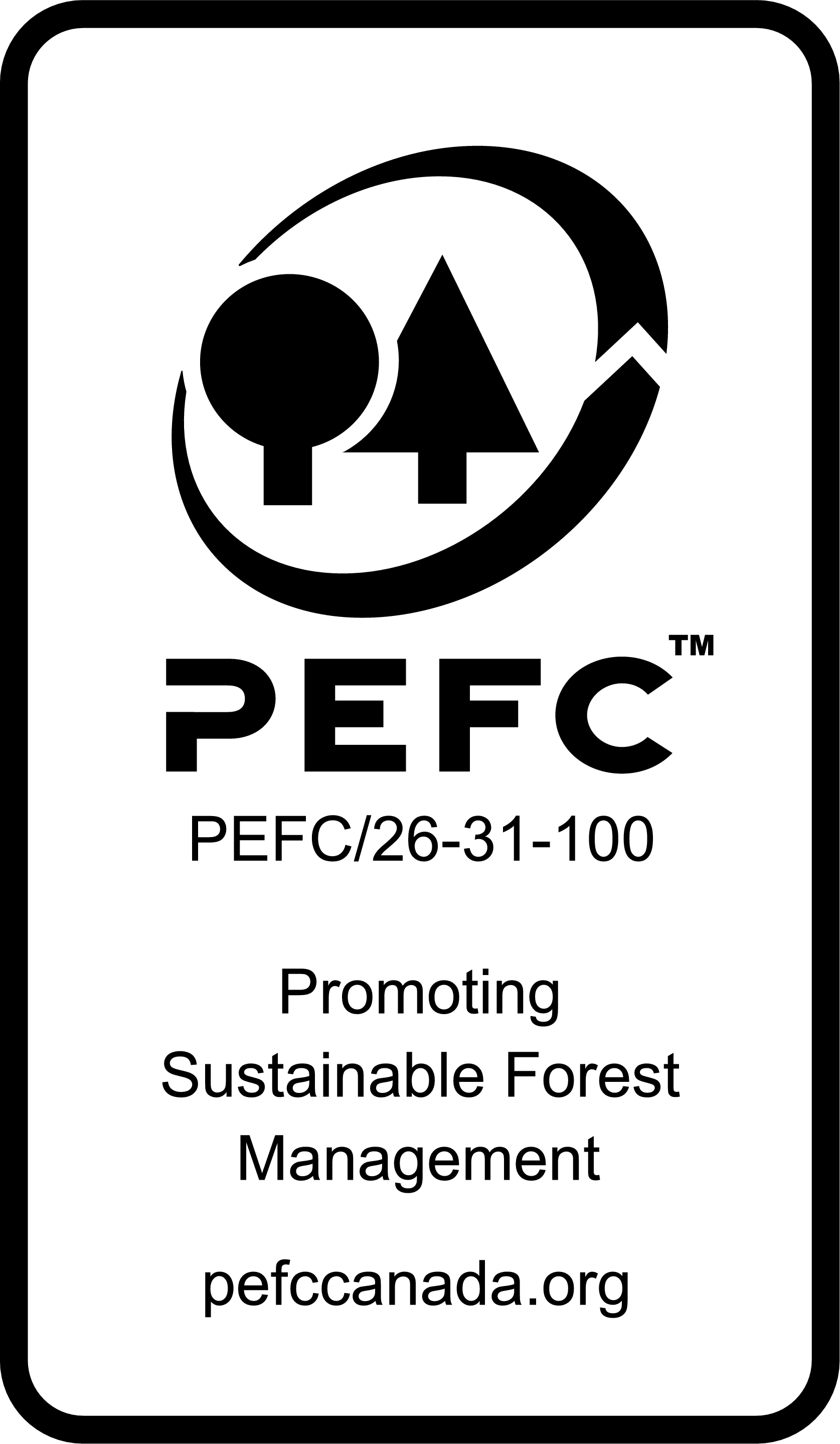 PEFC Programme for the Endorsement of Forest Certification Logo