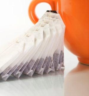 5 tea bags and mug