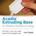 Acadia Extruding Base